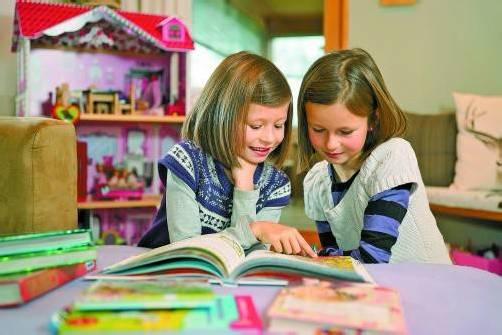 Der Bücherwettbewerb soll Lust auf Lesen wecken. Foto: L. Berchtold