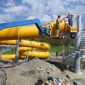 Neue 83 Meter lange Rutsche