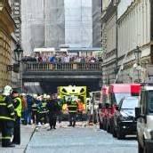 Prag: Dutzende Verletzte bei Explosion im Zentrum