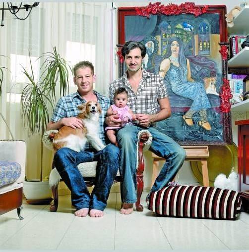 Die Familie Swissa lebt in Tel Aviv. Fotos: Reli und Avner Avrahami