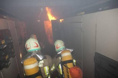 Die Feuerwehr konnte den Brand rasch löschen. Foto: mathis