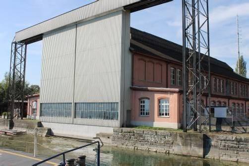 Die Schweizerische Bodensee-Schifffahrtsgesellschaft lässt die Romanshorner Werft um 9 Millionen Franken erweitern. Foto: G. Grabher
