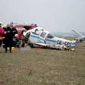 Kleinflugzeug in Wels abgestürzt