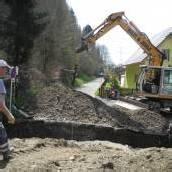 Neue Wasserleitung für Feldkirchs Quellengasse