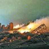 Explosion wie im Irakkrieg