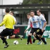 Mühsam erkämpfter Punkt für den FC Hard gegen Anif