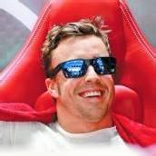 Alonso in der Holzklasse unterwegs