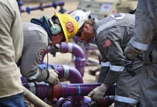 Fracking mit US-Hilfe auch in der Ostschweiz? Die Kantone kippen jetzt erst einmal ein bestehendes Monopol. Foto: AP