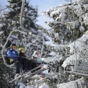 Trotz Frühling herrscht im Montafon Eiseskälte