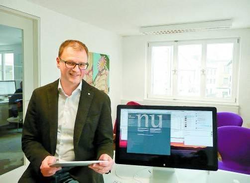 """Gerhard Schwärzler: """"Unser speziell für Sportverbände entwickeltes Programm ist einzigartig."""" Fotos: M. Matt"""