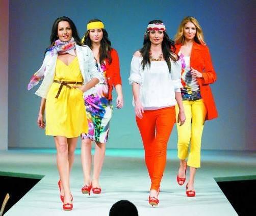 In der Hypo-Modehalle findet täglich um 10.30, 12.30, 14.30 und 16.30 Uhr die Modeschau mit den neuesten Frühjahrstrends statt. Foto: VN