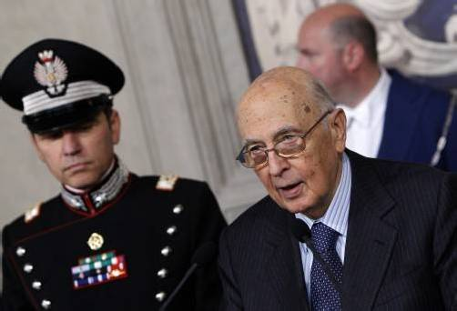 Italiens Präsident Napolitano denkt noch nicht an Rücktritt. Foto: APA