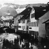 Im Martinsturm wird bildreich von Bregenz erzählt /D4