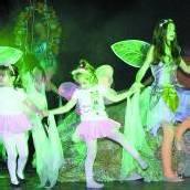 Auch rund 20 Kinder und Jugendliche machen das Musical Peter Pan in Hörbranz zum Publikumsmagneten