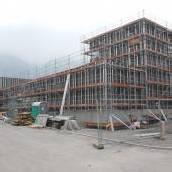 Bürs: Schulzentrumsbau liegt voll im Zeitplan