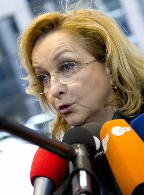 """Maria Fekter: """"Schritt für Schritt in Richtung Nulldefizit."""" Foto: APA"""