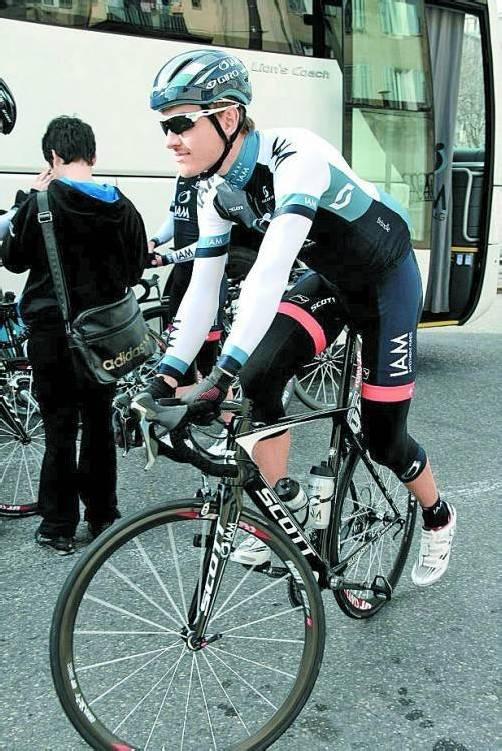 Matthias Brändle bestreitet den Pfeil von Brabant, das Amstel Gold Race, den Flèche Wallonne und Lüttich-Bastogne-Lüttich. Foto: privat