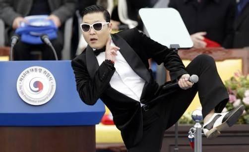 "Nach ""Gangnam Style"" folgt ""Gentleman"". Foto: ap"