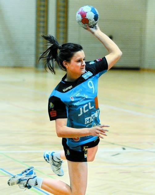 Nadja Ströhle erzielte beim Sieg in Wien zehn Treffer. Foto: vn/DS