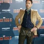 Hollywood-Star in Lederhosen