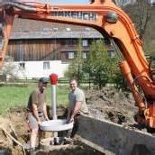 Wasserleitung wurde erneuert