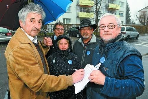 """Stadtbus Bregenz: Die """"Wutbürger"""" wollen sich als """"Mutbürger"""" verstanden wissen. Foto: vn/hofmeister"""