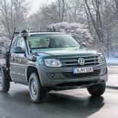 VW Amarok mit Kipper