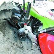 Motorradfahrer schwer gestürzt