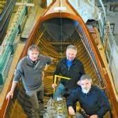 Dampfboot ahoi In Hard wird alte Yacht saniert /A8