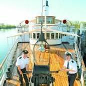 Dampfschiff Hohentwiel feiert den 100er