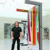 Klug und bunt Wade Guyton im Kunsthaus /D4
