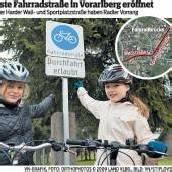 Vorarlberg hat die erste Radstraße