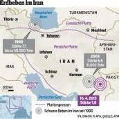 Schweres Erdbeben hat erneut Iran erschüttert