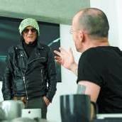 Film von Stars: Flatz dreht mit Ulli Lommel /D7