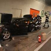 Sekundenschlaf – Feldkircher krachte mit Audi in Tunnelwand