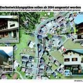 Dorfentwicklung ist den Lechern viele Euros wert