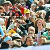 100.000 Menschen kamen an einem Werktag zur Generalaudienz des Papstes