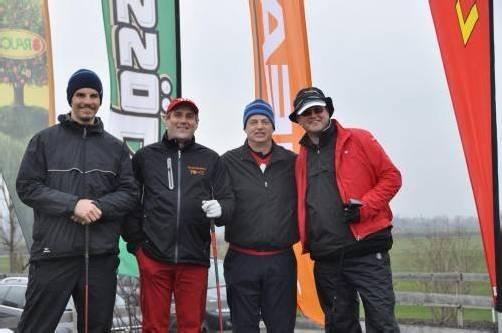 (v. l.) Rene Harrer (Head) mit Bertram Lins (Berlins AG) sowie Eishockey-Legende Bengt-Ake Gustafsson und Gert Heinrich. Fotos: Privat