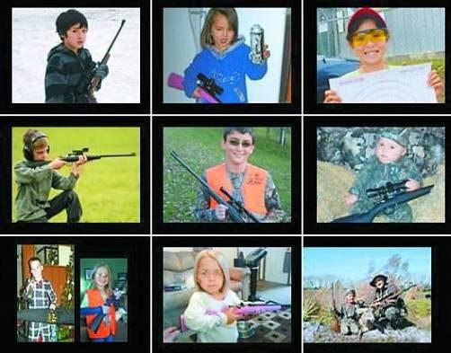 """""""Qualitätswaffen für Amerikas Jugend"""": So wirbt der US-Hersteller auf seiner Homepage."""