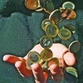 Euro-Scheine statt Münzen