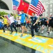 Tausende beendeten den Boston-Marathon