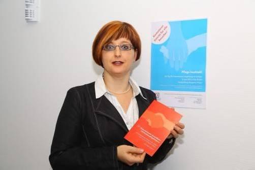 Beate Halbeisen organisiert den Info-Tag mit. Foto: vn/hofmeister
