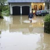 Überschwemmungen nach Starkregen in Graz