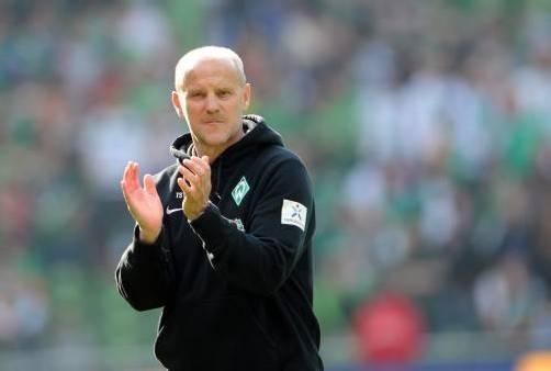 Bleibt er, oder geht er? Werder-Coach Thomas Schaaf. Foto: Gepa