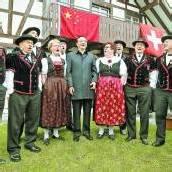 Chinas Premier Li Keqiang zu Besuch in der Schweiz