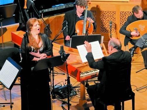 """Das Barockorchester """"Concerto Stella Matutina"""" bot mit Francesca Lombardi Mazzulli ein Programm voller Entdeckungen. Foto: JU"""
