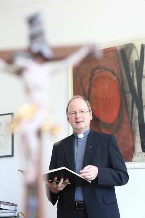 """Benno Elbs: """"Bin Fan von Papst Franziskus."""" Foto: VN/Hartinger"""