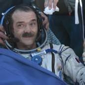 Rückkehr von der Raumstation ISS