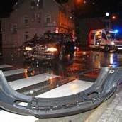 Drei Verletzte bei Unfall auf der Rheinstraße