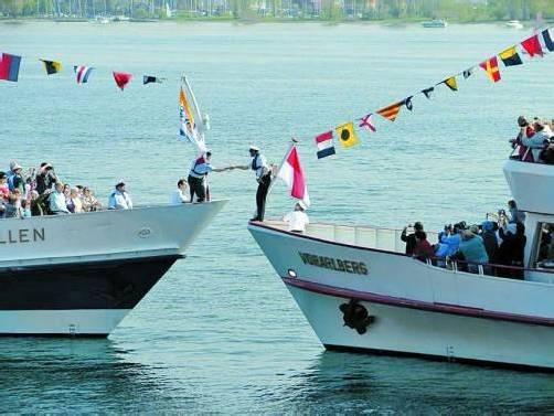 Die drei Schifffahrtsgesellschaften auf dem Bodensee pflegen auch nach den Veränderungen eine gute Zusammenarbeit. Foto: Kühmaier